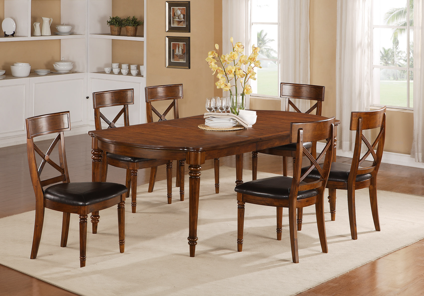 dining table cracked glass top dining table. Black Bedroom Furniture Sets. Home Design Ideas