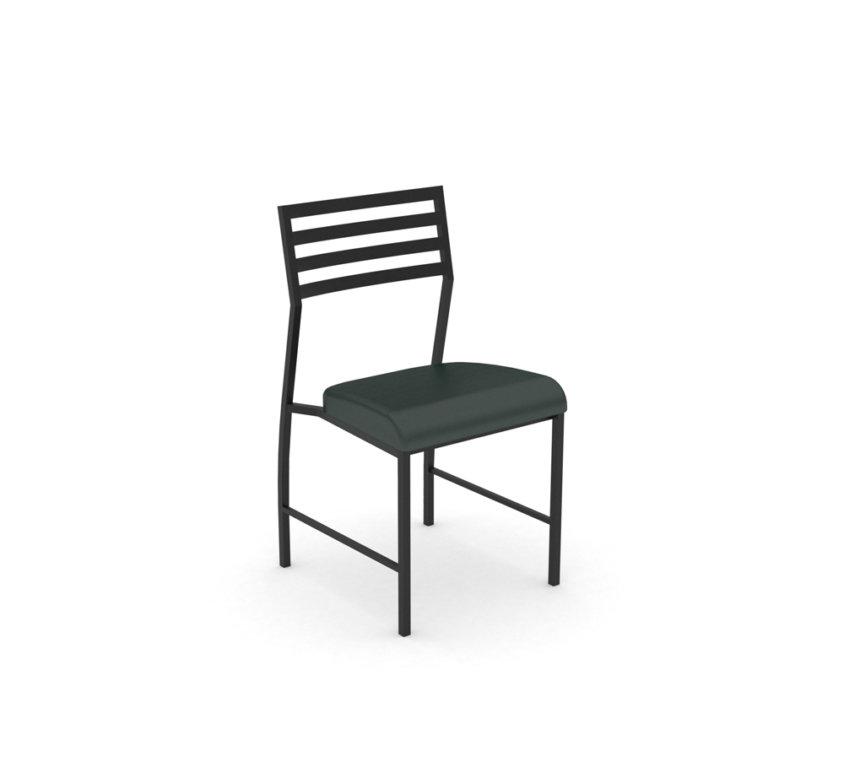 Motif Black Chairs – Black Vinyl