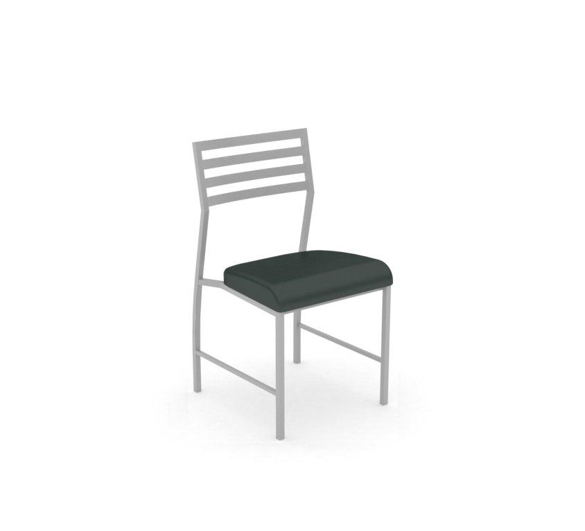 Motif Silver Chair Dillon black