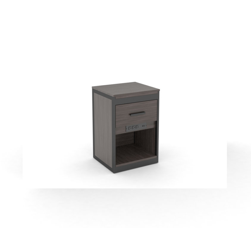 Nightstand Plus with Drawer and USB