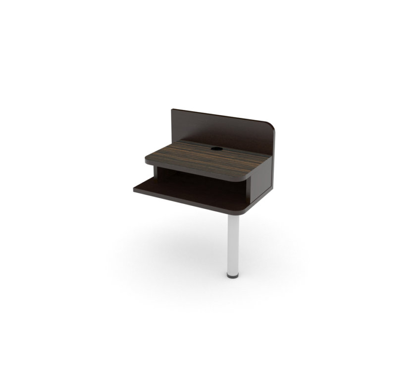 "RT NIGHTSTAND 16"" WITH LEG"