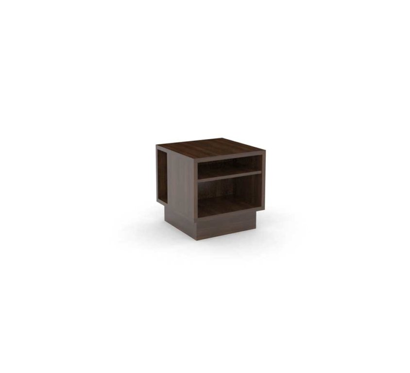 Guestroom/Suite Side Table, Walnut_ALT GR-412.1 ALT-CG