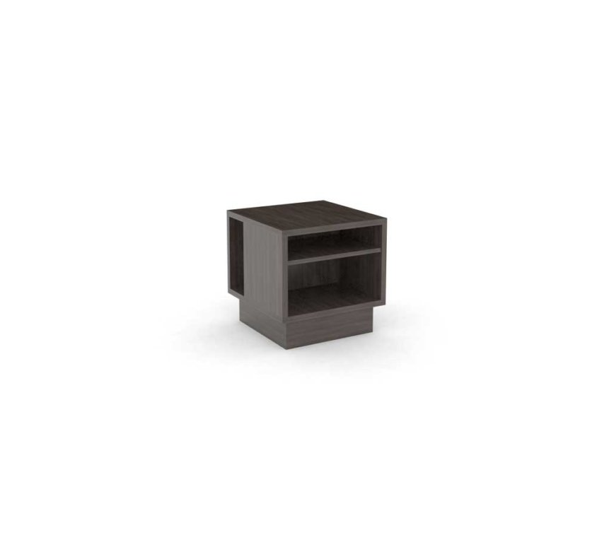 Guestroom/Suite Side Table, Grey, ALT