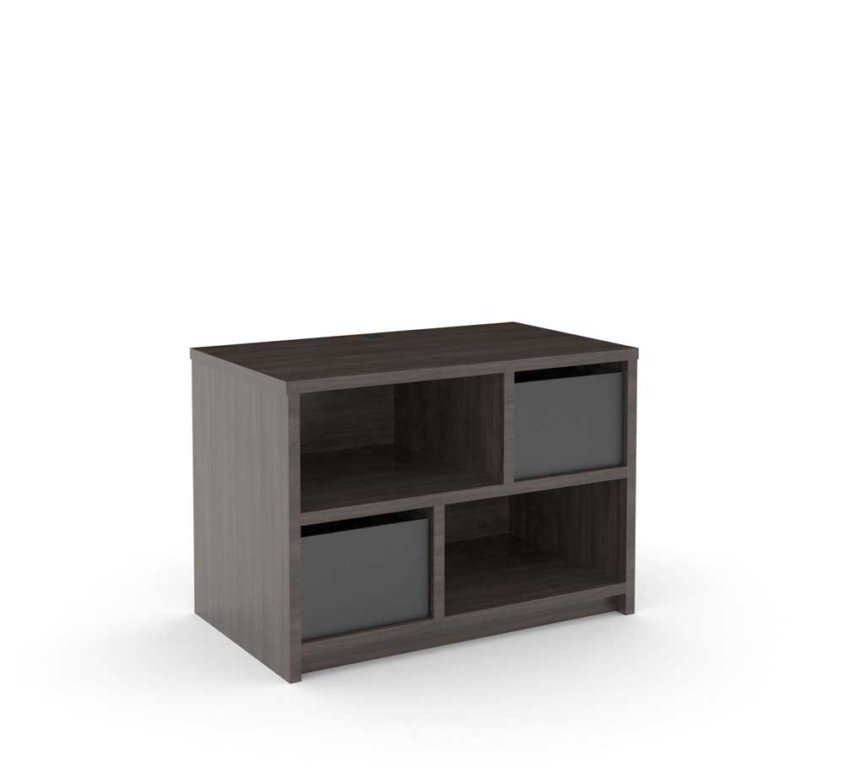 Dresser 2-Drawer, Grey_ALT