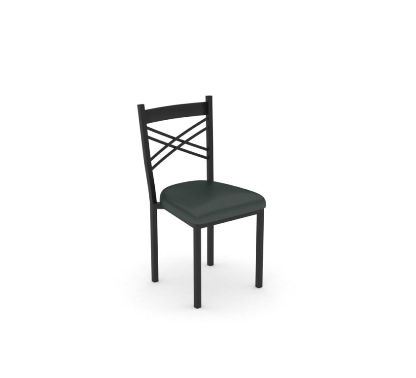 Fan Back Chairs – Dillon Black