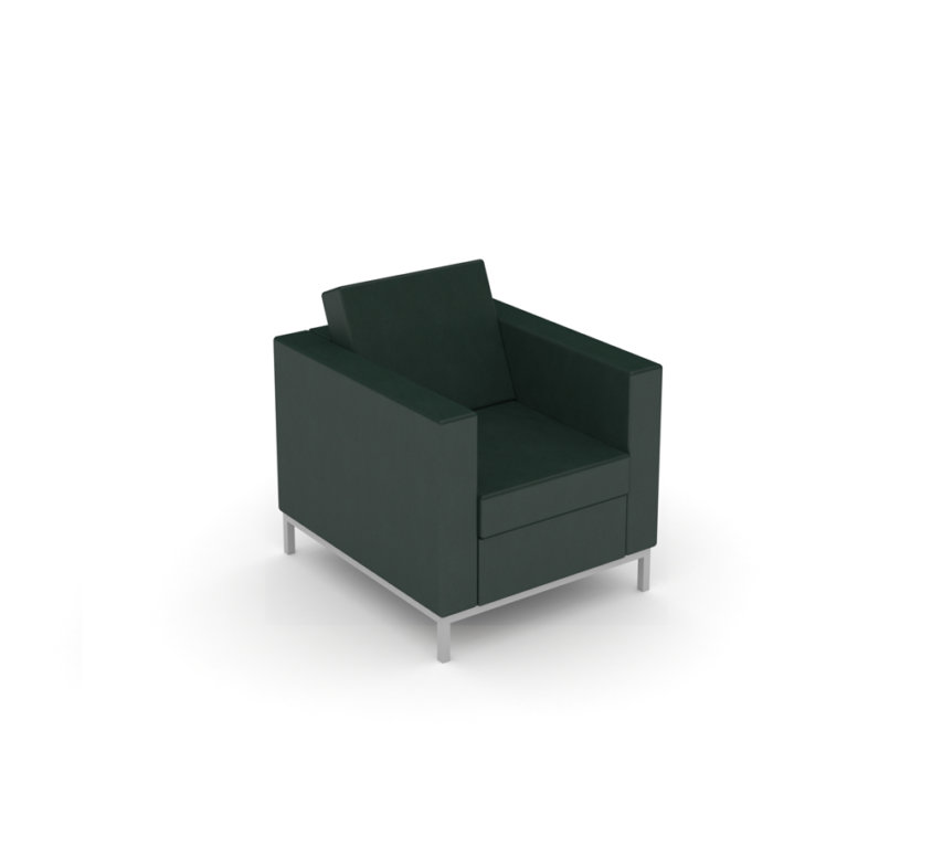 Lounge Chair – Dillon Black