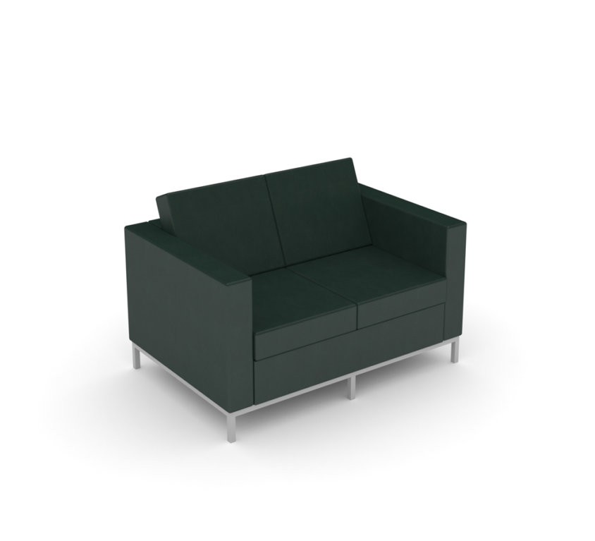Love Seat – Dillon Black