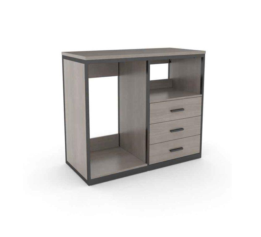 Micro Fridge Cabinet 3 Drawer (FN-513)