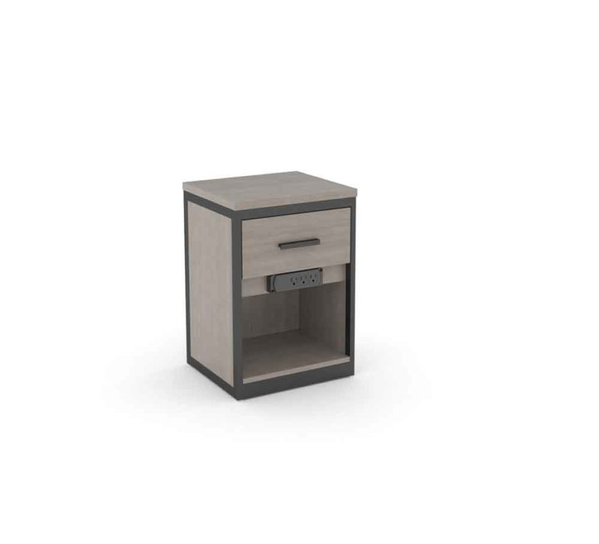 Nightstand with E-Plug* – Small