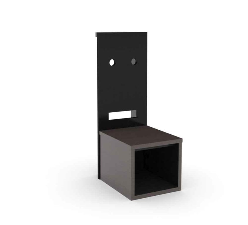 "12"" MIDDLE NIGHT STAND"