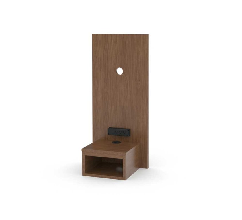 "16"" Panel With Floating Nightstand 36H"