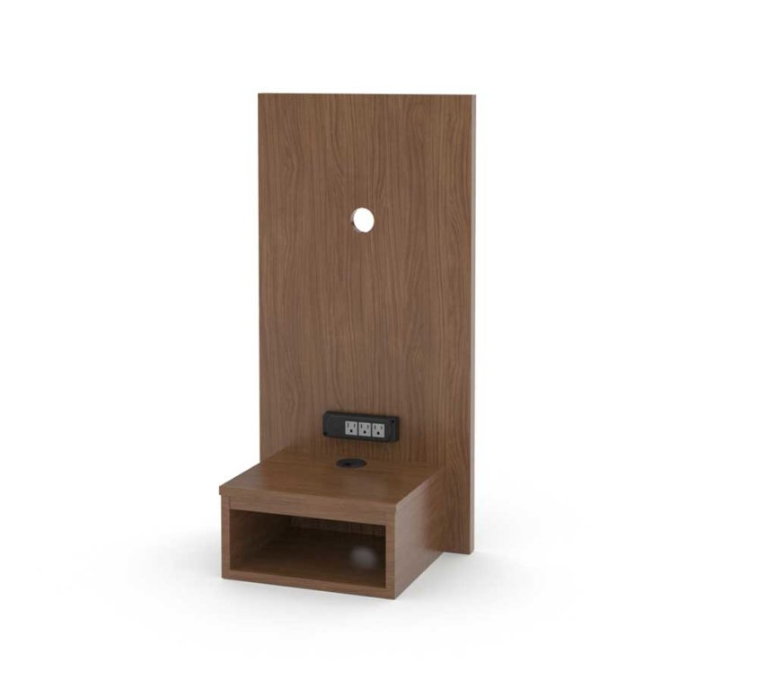 "18"" Panel With Floating Nightstand 36H"