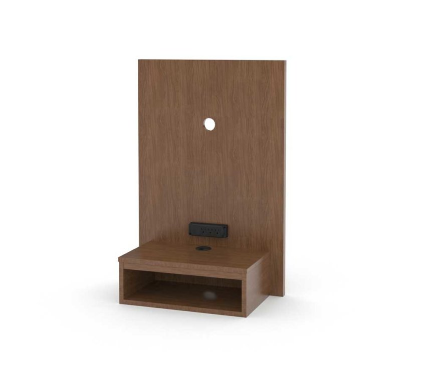 "24"" Panel W-Floating Nightstand 36H"