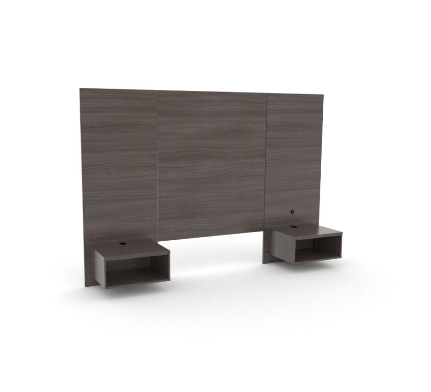 KING 48″ H Panel Headboard/nightstand NO USB